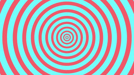 helezon : Seamless Looping hypnosis spiral Background with Pastel Color Style.