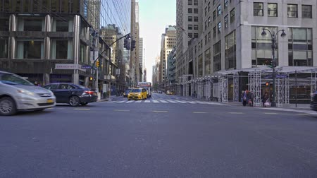 미드 타운 : Lexington Ave and 42nd Street in New York City, United States