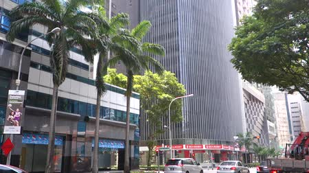уменьшающийся : Central Business District in Singapore