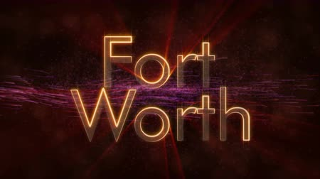 que vale a pena : Fort Worth - United States of America Stock Footage
