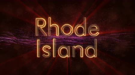 rhode : Rhode Island - State of the art text animation - Shiny rays