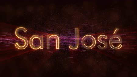 country name : San Jose - Cityscape - Costa Rica Stock Footage