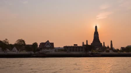 View of the embankment of Bangkok.