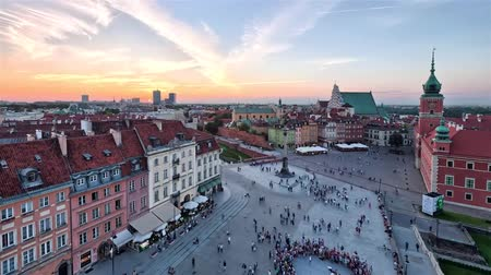 Castle Square in Warsaw is a historic square in front of the Royal Castle the former official residence of Polish monarchs located in Warsaw, Poland.
