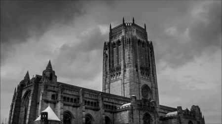 Beautiful church of Liverpool. Dostupné videozáznamy