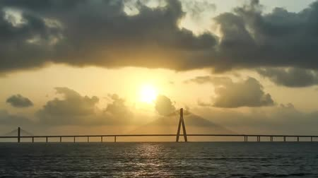 realty : Bandra Bridge - Ssr, India. Suspension Band Eight Indian Cities, Surrounded by Water.