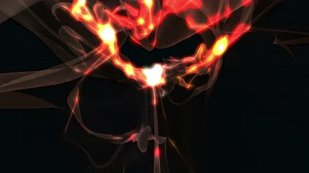 gravitational : Abstract Energy Effect for your presentation. Background with cooper dark energy or fire. CG animation, 3D render, motion design V6