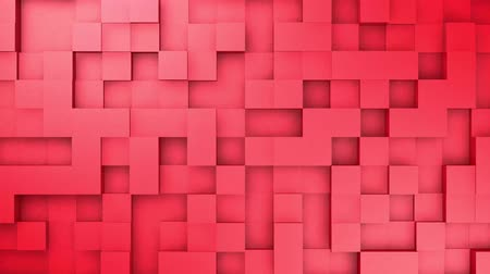 Abstract Cubes in Motion Loopable Background Random Motion, for your presentaion. 3D Animation 4k. V24