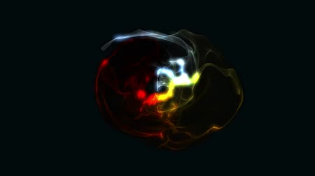 gravitational : Abstract Energy Effect for your presentation. Background with fire dark energy or fire. CG animation, 3D render, motion design V4