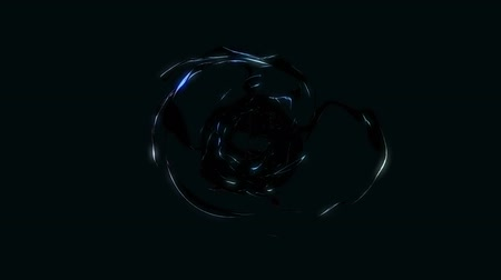 gravitational : Abstract Energy Effect for your presentation. Background with fire dark energy or fire. CG animation, 3D render, motion design V6
