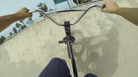 skate : POV Extreme BMX Bike Tricks In Skatepark