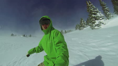 snowboard : Extreme Snowboarding Point Of View, Winter Sport HD