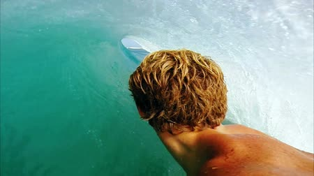 powerful : POV Man Surfing, Extreme Sport