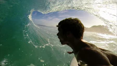 point of view pov : POV Man Surfing, Extreme Sport