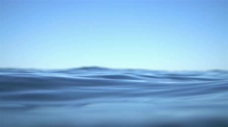 kapatmak : Slow Motion Ocean Water Texture Background