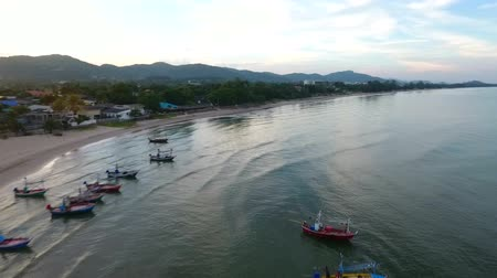 khan : Sea in the province of Prachuap Khiri Khan,Thailand