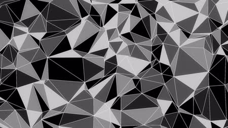 quadrado : Abstract low poly evolving background