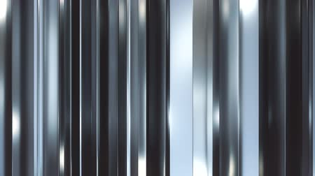 vertical stripes : Vertical metal blades background loop