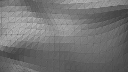 Modern corporate style gray triangle wave surface background