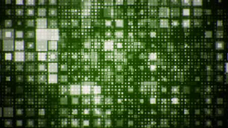 Geometric Flash Looping green Squares Animated Background Stock mozgókép