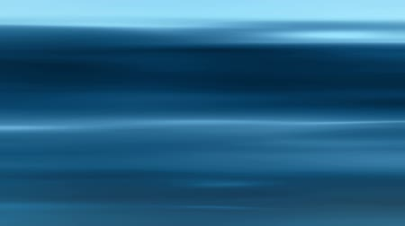 Soft horizontal light streaks blue background loop