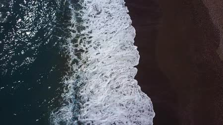 szépen : aerial photography of the sea beach