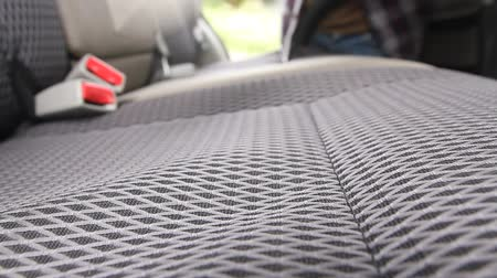 odkurzacz : Chemical cleaning of Cars interior textile seats with professionally vacuum cleaner