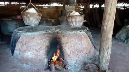 tuzlu : Traditional production of salt
