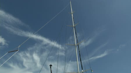 prestigious : Sailing boat docked during Perini Navi Cup on August 30 2013 in Porto Cervo Italy