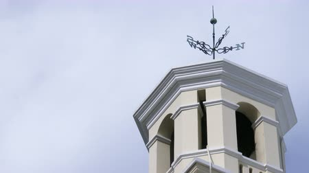 bermudas : Steeple of a traditional church in Bermuda