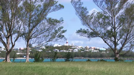 bermudas : Panoramic view of the small town of St. George, Bermuda