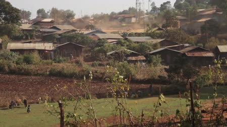 venkovský : Typical village found in rural part of Ethiopia, Africa, Dostupné videozáznamy