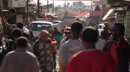 czarne : The Mercato, Ethiopia, Addis Ababa, the biggest open air market in Africa.