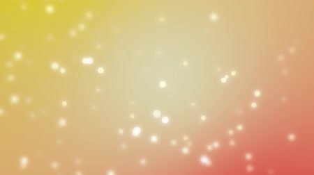 hatály : Particle World Abstract Background - Red and Yellow Colors - Orbs and Particles