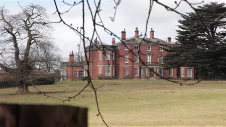 anglia : Maple Hayes Stately Home Across Fields - Historic English Country House