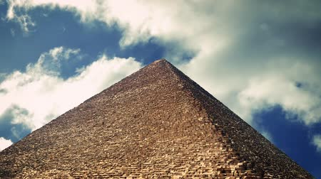 piramit : Great Pyramid of Giza Stok Video