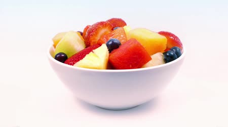 martwa natura : Bowl Of Delicious Fruit Rotating