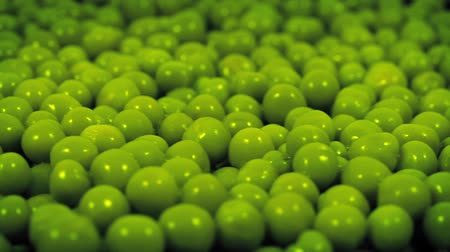 vagens : Green Peas Rotating Closeup Vídeos