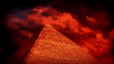 plagues : Red Sky Over Pyramid Esoteric Concept