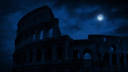 gladiatorial : The Roman Colosseum At Night