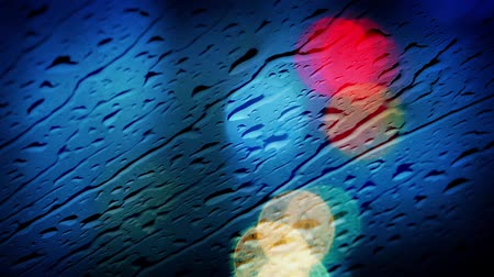 ulewa : Rain On Car Window Abstract