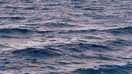 oceano : Ocean Waves At Sunset