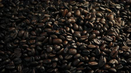 ristretto : Roasted Coffee Beans Poured Into Pile