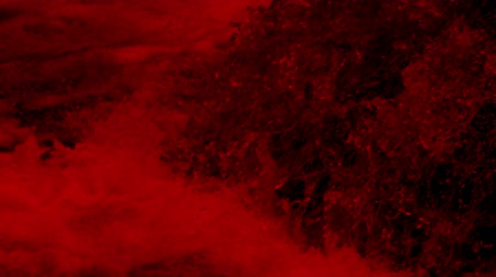 kanlı : Blood Red Water Rushing Stok Video