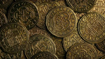 doubloon : Historic Gold Coins Closeup