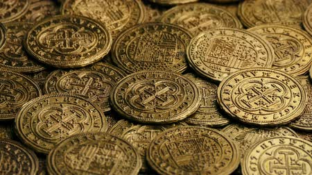 doubloon : Gold Pirate Coins Rotating