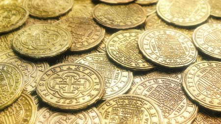 doubloon : Shiny Gold Treasure Coins