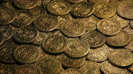 pirat : Spanish Galleon Coins Rotating