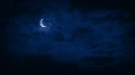 weerwolf : Crescent Moon In Night Sky