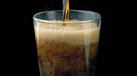 cola : Moving Up As Coke Pours Into Glass